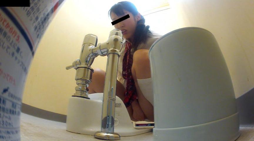 トイレカメラが捉えた女子生徒達のトイレオナニーのサンプル画像