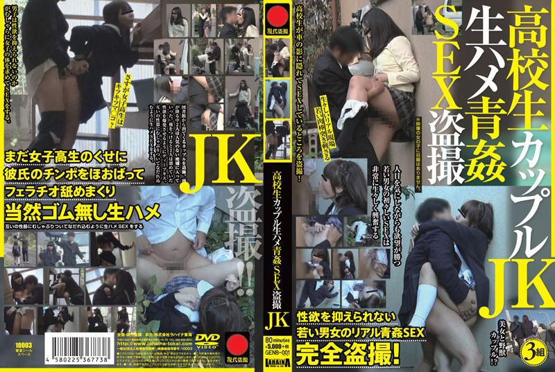 【エロ動画】高○生カップル生ハメ青姦SEX盗撮JKのトップ画像