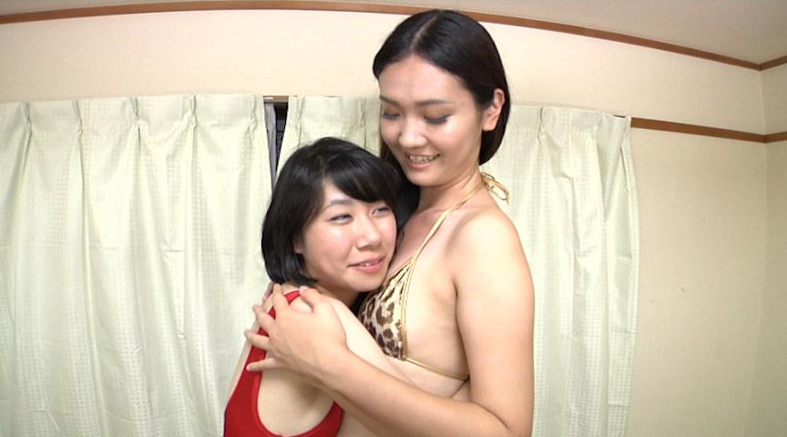 身長差レズ 180cm以上の女と150cm未満の女のサンプル画像1