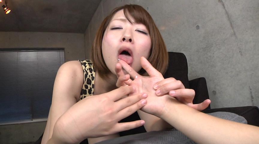 女の指でレズオナニーのサンプル画像12