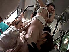 女が女を襲う!女監督ハルナのレズ痴漢バス case.03