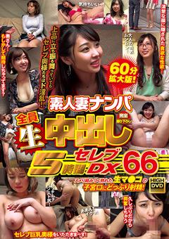 【熟女動画】素人妻ナンパ全員生中出し5時間ゴージャスDX-66