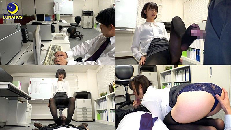 IdolLAB | lunatics-0048 深夜の社内で残業中の人妻女上司と2人きり! 月乃ルナ