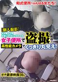大型ショッピングモール女子便所で盗撮に成功!