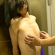 超スレンダー美少女 AAAカップ乳首洗い責め