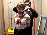 ロープで縛られ苦しみ悶える女(りお) 【DUGA】