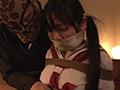 ロープで縛られ苦しみ悶える女(春川莉乃)-2