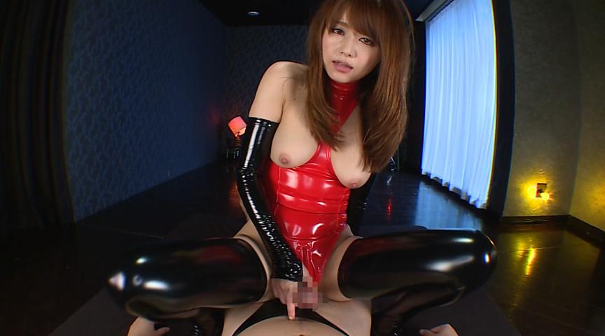 変態マゾヒスト ボンテージ嬢 イラマチオ調教 吉沢明歩 画像 3