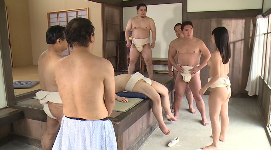 由愛可奈のふんどし大相撲 画像 1