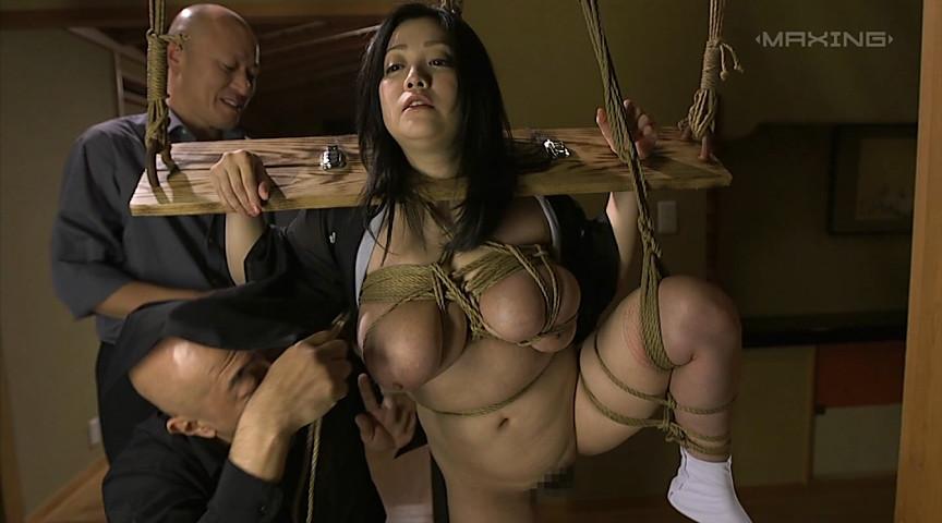 緊縛奴隷調教され快楽堕ちする背徳未亡人 小向美奈子 画像 14