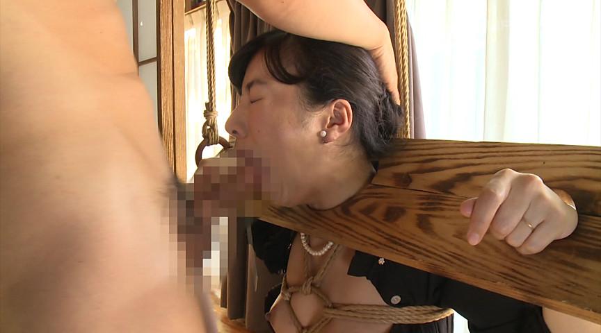 緊縛奴隷調教され快楽堕ちする背徳未亡人 由愛可奈 画像 7