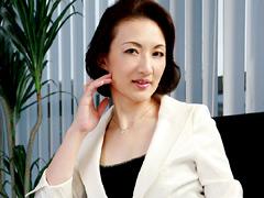 熟女:いやらしい女社長のいる会社 花島瑞江