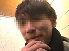 【新婚イケメンの若パパ】公衆トイレで若パパの口マ●コを犯す!!