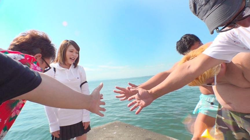 ぼっちナンパ in残暑の千葉内房 おひとり様の若娘学生とSEX! 10枚目