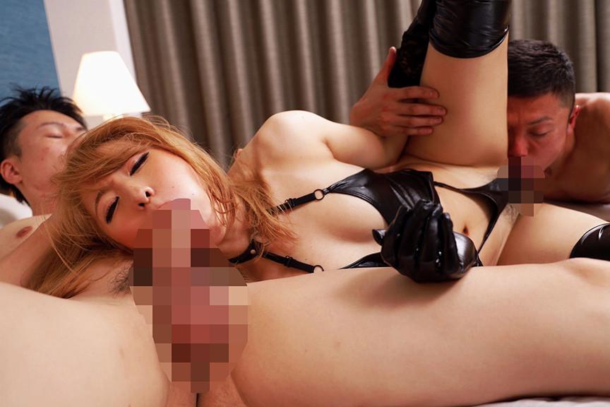 エロ黒元ヤン姐さんのEnamel Bondage FUCK 画像 8