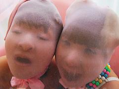 顔スト姉妹 パラパラとお菓子の館