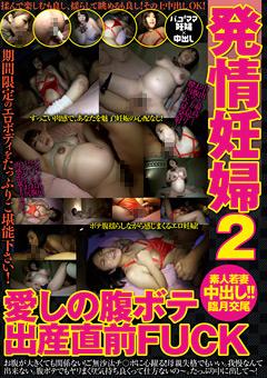 「発情妊婦2 愛しの腹ボテ 出産直前FUCK」のパッケージ画像