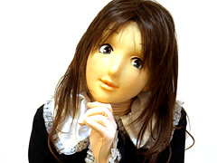 フェチ:ゴスロリ着ぐるみアニメマスクな彼女