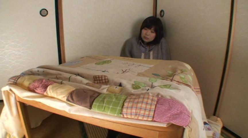 黒タイツこたつDE足コキ&オナニー:まりな&くるみ編 画像 12
