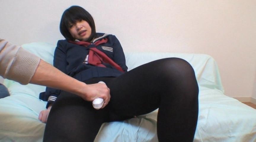 黒タイツ女子校生×2 画像 9