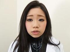 フェチ:キレイな女医はラバー痴女医だった!!