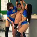 貞操帯で射精管理されるクンニ特訓所