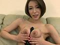巨乳美女の挑発×淫語×ディルド自慰-6