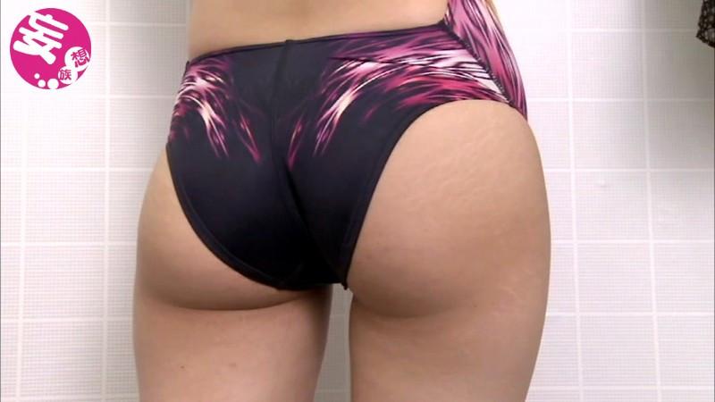 競泳水着からハミ出る豊満な女体とデカ尻盗撮!6 画像 9