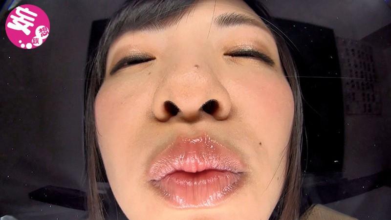 悩殺!!たっぷり唾液で迫るバーチャルべろキス
