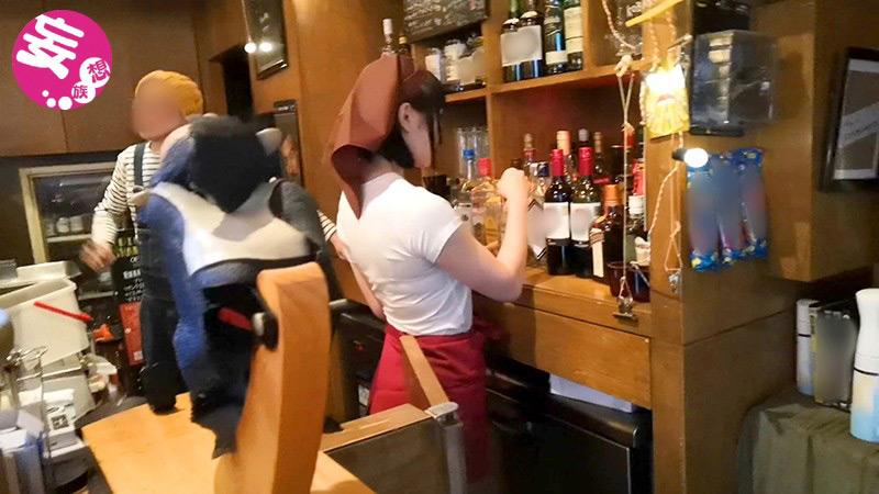 露出調教 1 居酒屋アルバイト店員ちあき(18)のサンプル画像