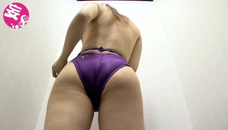 競泳水着からハミ出る豊満な女体とデカ尻盗撮!7 画像 10