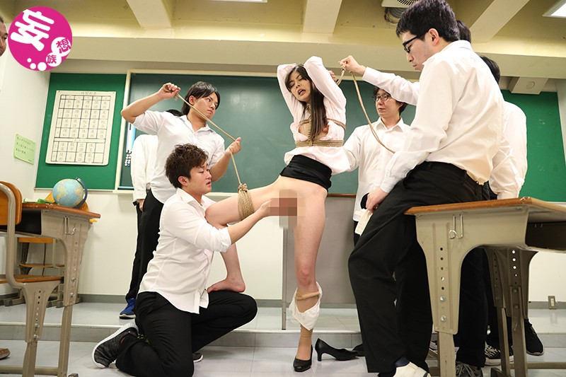 剃毛女教師 恥辱の教室 卯水咲流
