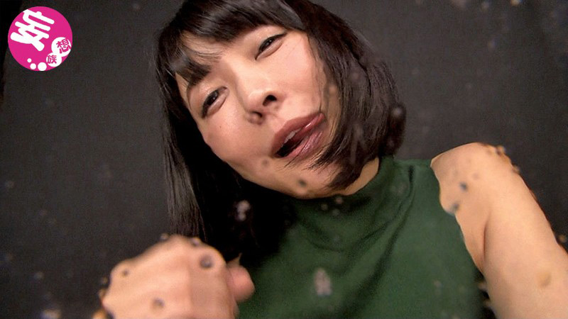 バーチャル映像で口臭吐き掛けられ、唾も掛けられたい