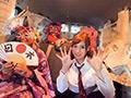 葉月レイラちゃんとキモヤマンバ達の愉快なナマパコ動画のサムネイルエロ画像No.1