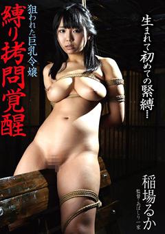 【稲場るか動画】縛り拷問覚醒-狙われた巨乳おっぱい令嬢-稲場るか -SM