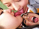 究極の鼻水唾液交換 口臭嗅ぎ鼻舐め 【DUGA】