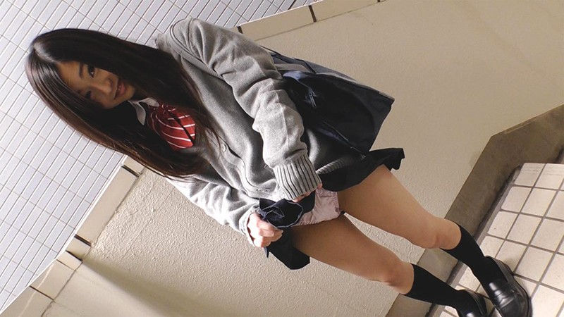 円女交際 中出しoK18歳 低身長Aカップロ●娘 市川花音 画像 1