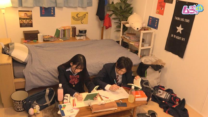 カップル盗撮 勉学に勤しむべき学生カップルが、親の居ぬ間に盛り上がるオトナ顔負けのドエロSEX 1枚目