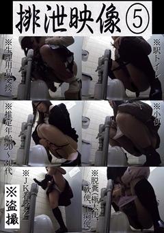 【盗撮動画】排泄映像5
