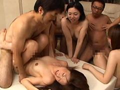 専業主婦たちの乱交パーティー!2時間40分!