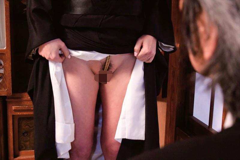 義父に緊縛調教される嫁 画像7