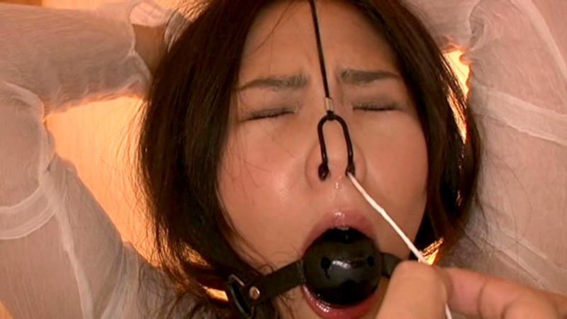 鼻責め・鼻浣腸5