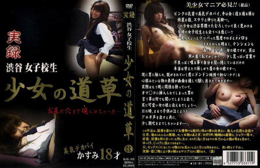 女子校生:実録 渋谷女子校生 少女の道草3
