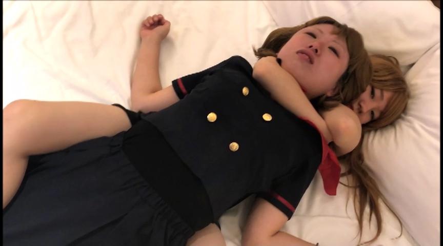 【危険すぎクルミちゃん失神】美百合ちゃんの絞め落とし:画像(5)