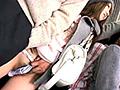 超満員電車でパンツとマ○コにチ○ポを挟んで射精