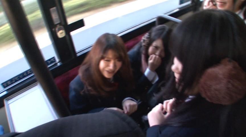 通学バスに乗り込んで生でヤられた ナチュラルハイのサンプル画像