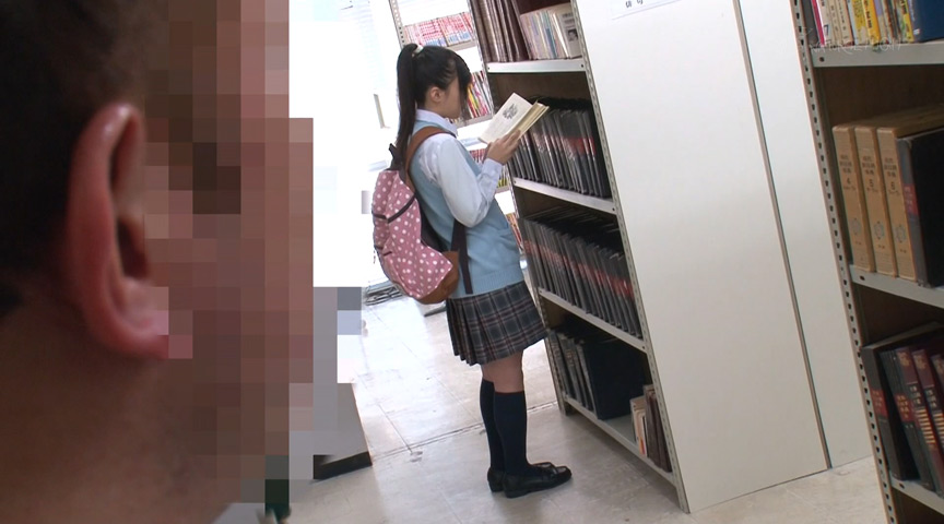 図書館で声も出せず糸引くほど愛液が溢れ出す敏感娘21