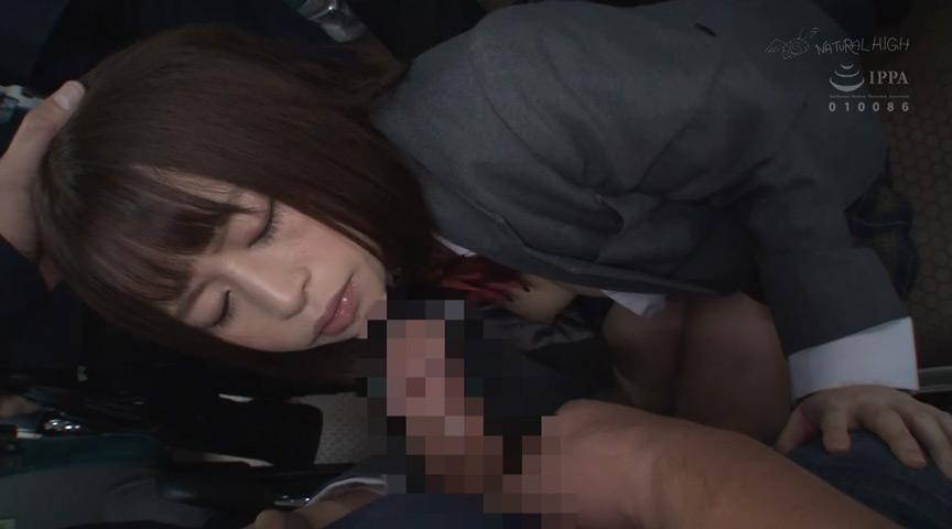 満員バスで背後から制服越しにねっとり乳揉み痴漢され腰をクネらせ感じまくる巨乳女子●生3 の画像17