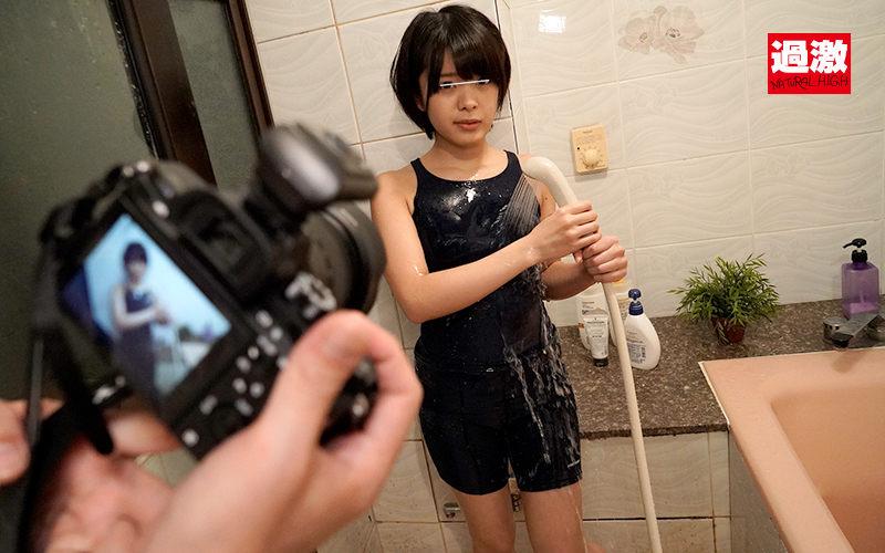 スクール水着の中の媚薬バイブでイキまくる敏感モデル 画像 6