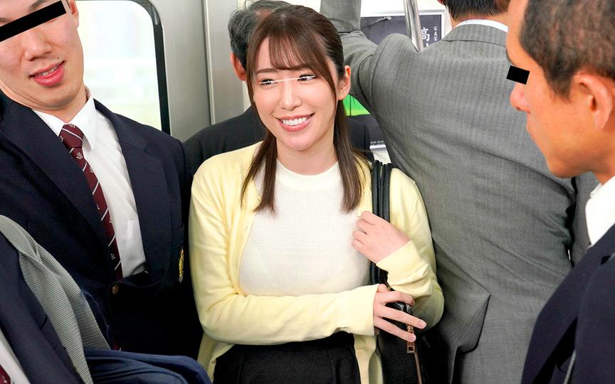 0014 - 満員電車で男子学生集団のイカせゲームに巻き込まれ!!
